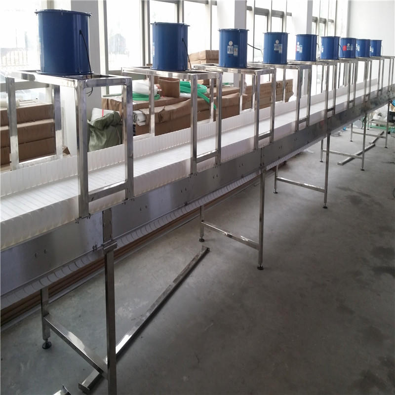 conveyor material stainless chain conveyor belt J&D WATER manufacture