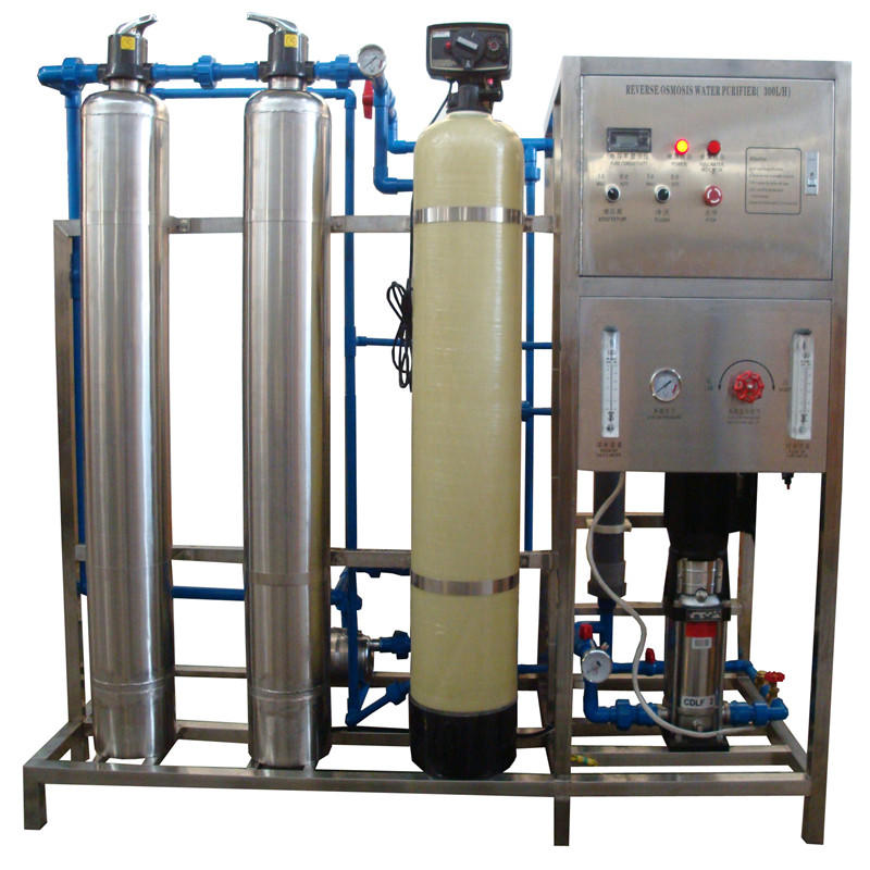 JNDWATER Reverse Osmosis Machine With Steel And Glass Tank