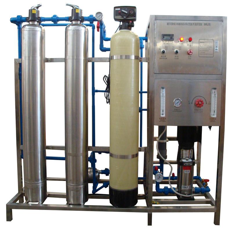 JNDWATER Máquina de ósmosis inversa con tanque de acero y vidrio