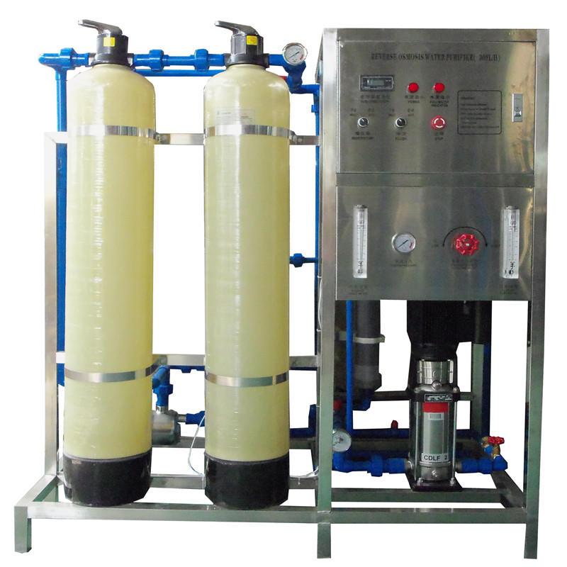JNDWATER  Glass Tank RO Filter Machine Water Equipment