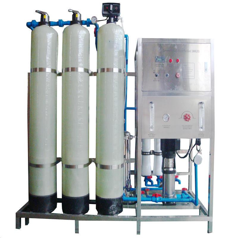 JNDWATER زجاج خزان التناضح العكسي نظام معالجة المياه