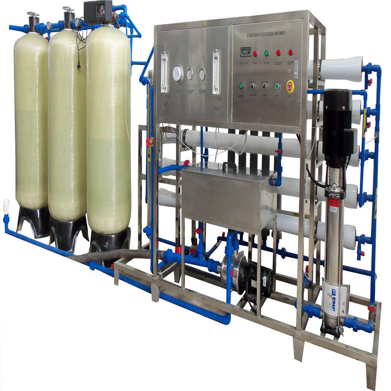 JNDWATER معدات معالجة المياه JNDWATER لخزان الزجاج