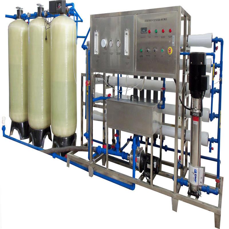 JNDWATER Equipo de tratamiento de agua RO para tanque de vidrio
