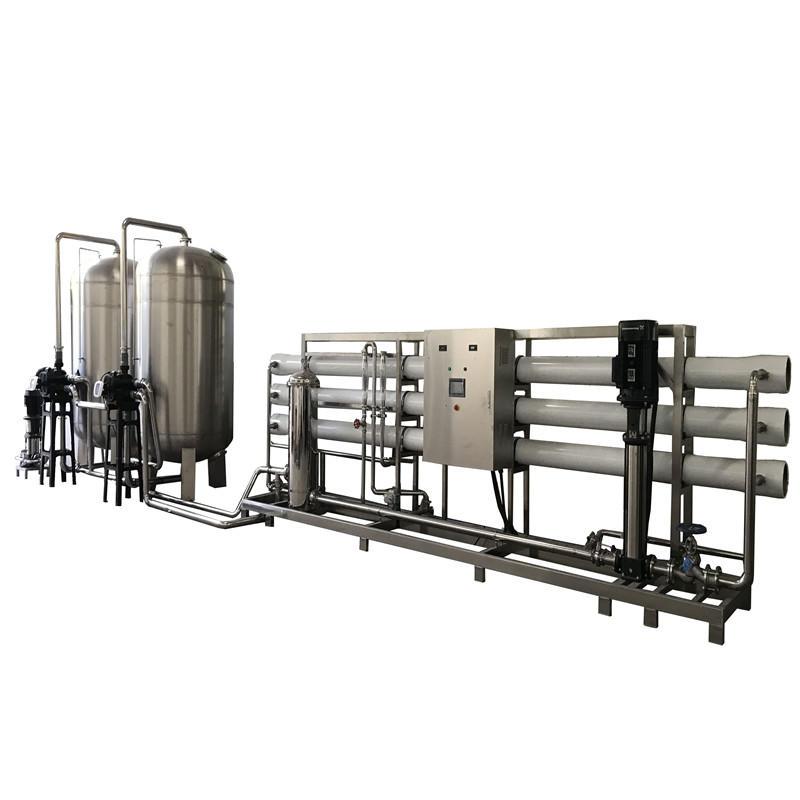 JNDWATER الفولاذ المقاوم للصدأ التناضح العكسي لمعالجة المياه آلة