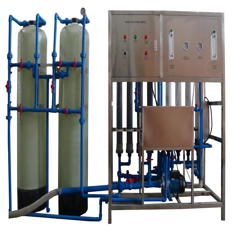 JNDWATER المياه المعدنية صنع آلة مع الزجاج خزان