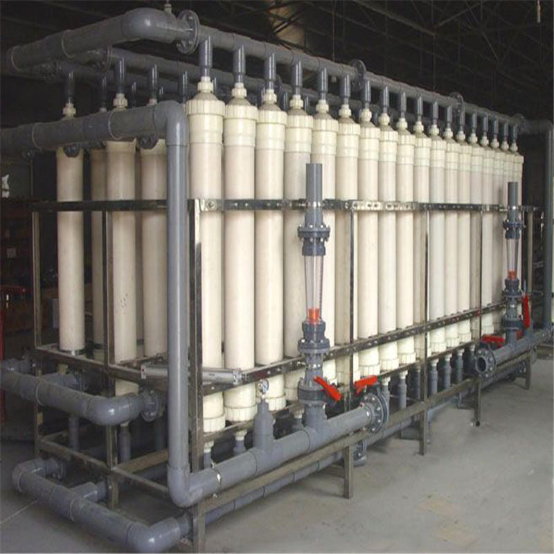 JNDWATER Normal Type Mineral Water Filter Machine Glass Tank