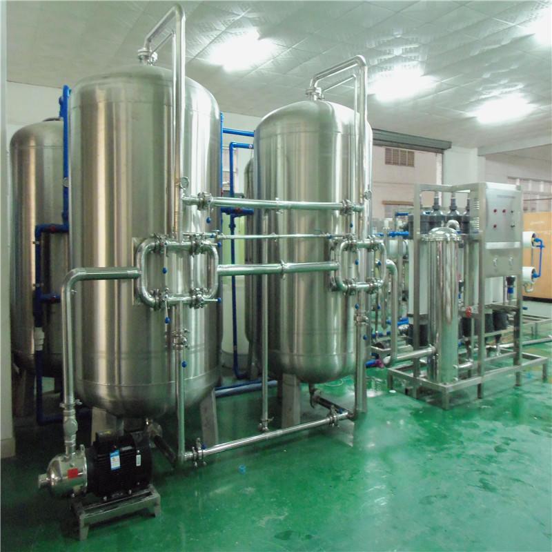 JNDWATER Maquinaria de planta de agua mineral de con acero inoxidable