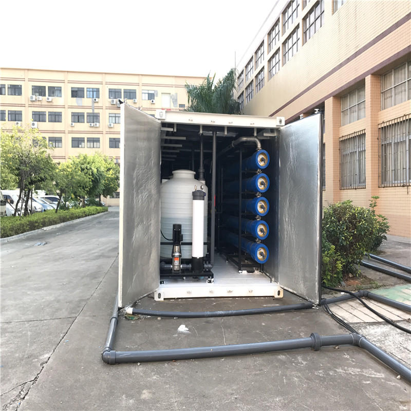 JNDWATER Economic Type Water  Desalination Equipment Seawater Desalination Machine