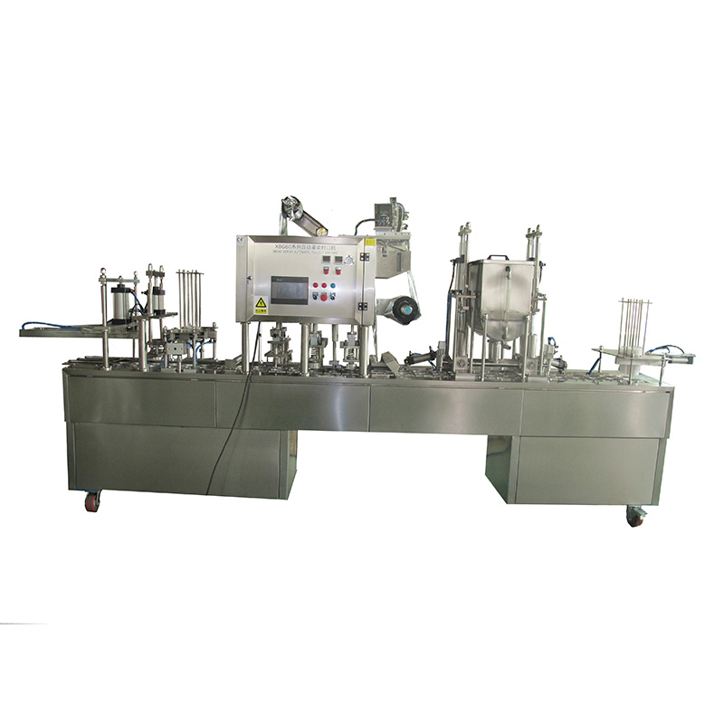 JD WATER-Cup Filling And Sealing Machine | Automatic Cup Sealing Machine