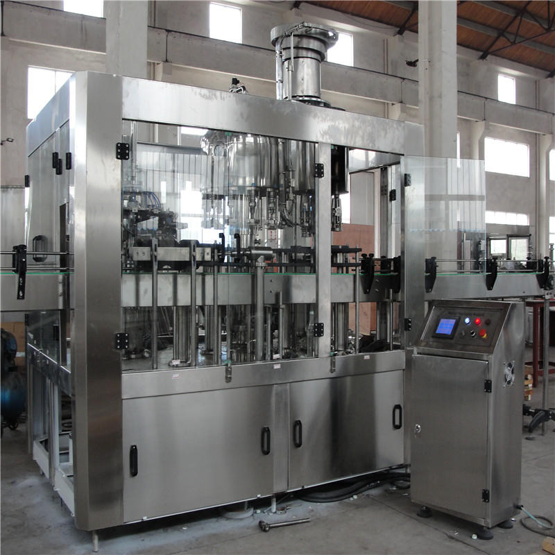 JNDWATER Glass Bottle Washing/Filling/Capping Machine