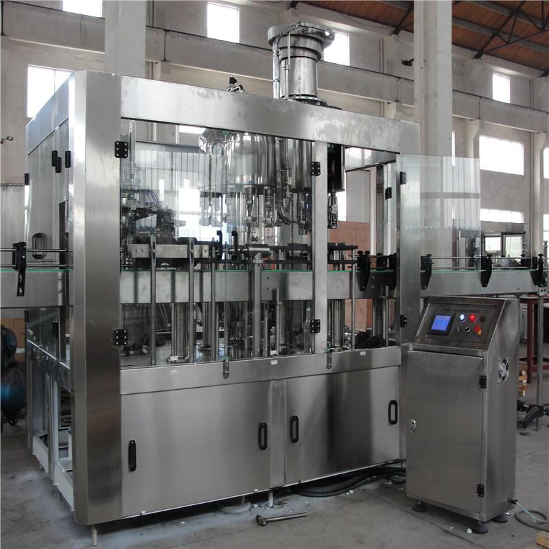 JNDWATER Machine de lavage / remplissage / capsulage de bouteilles en verre