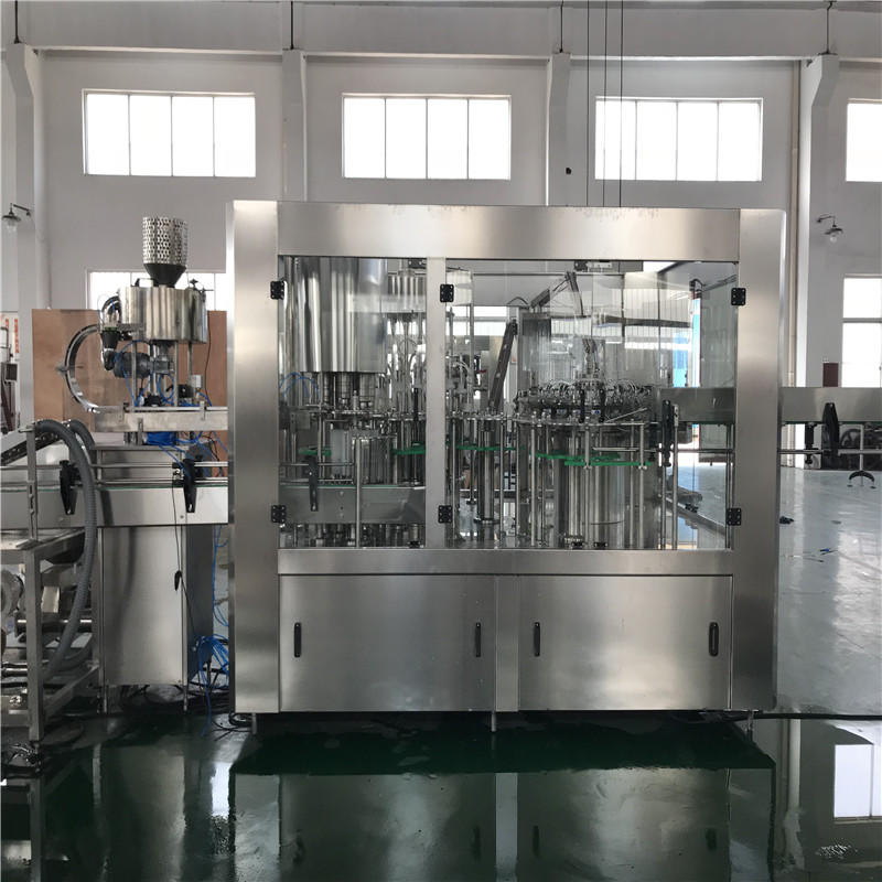 JNDWATER Low Vacuum Bottle Filling Machine Water Bottling Machine