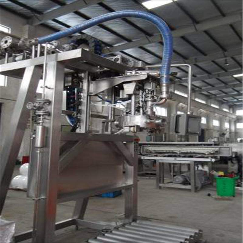 larger capacity bag filling machine convenient for PET plastic
