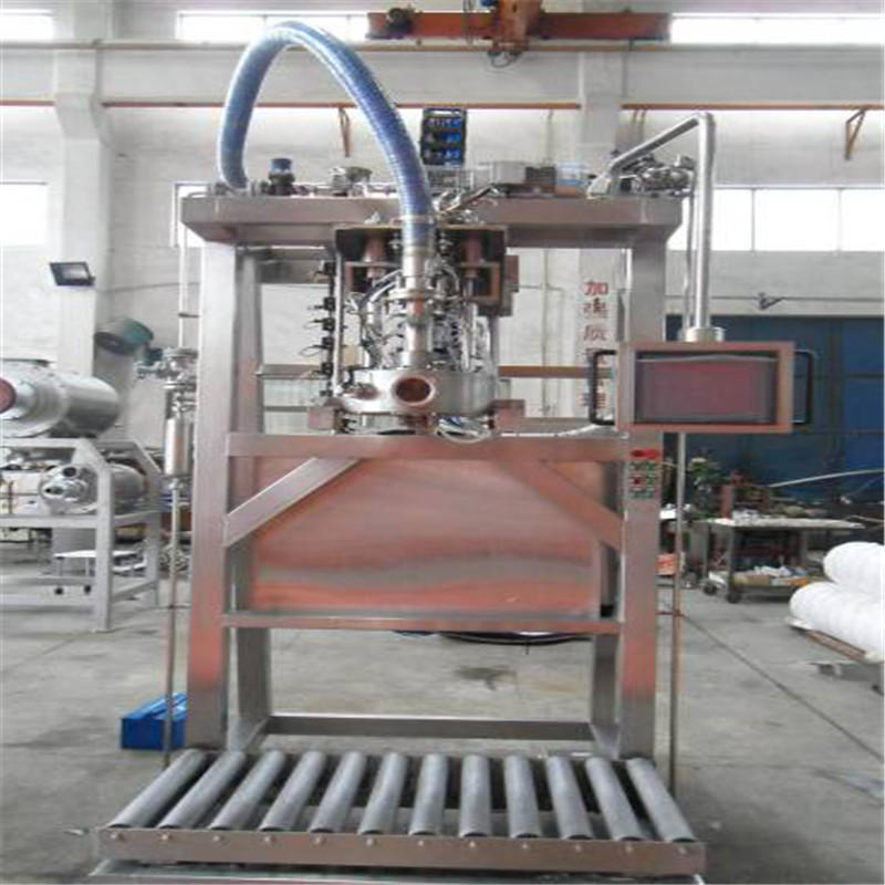J&D WATER adjusted bag filling machine stainless steel for PET plastic
