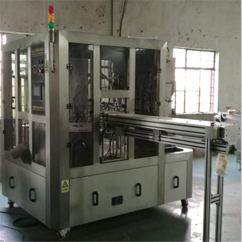 J&D WATER bag filling machine complete function for hot infusion