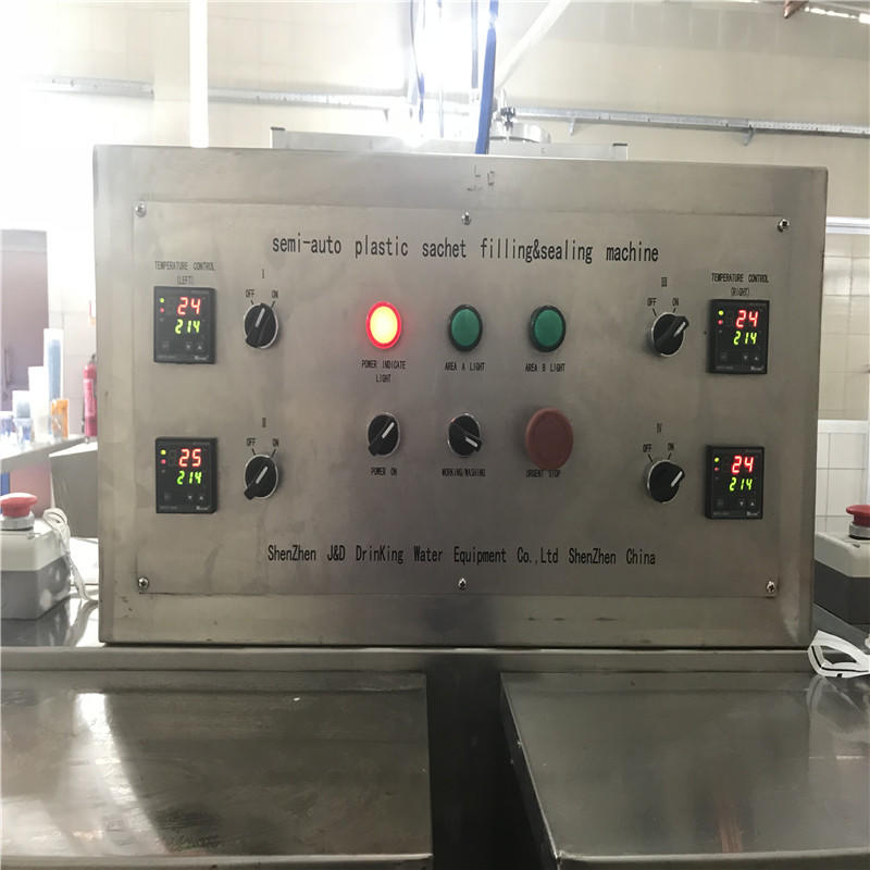 advanced technology aseptic filling machine high accuracy for mineral water J&D WATER