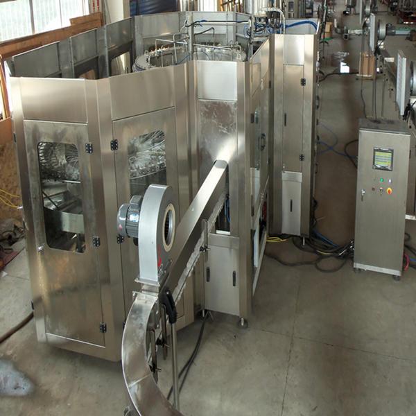 JNDWATER Gazeuses Lavage De Remplissage Bouchage Machine Bouteille de Vin Machine De Remplissage