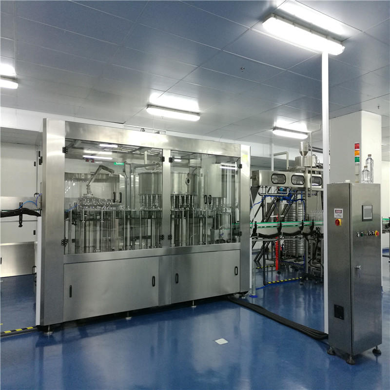 JNDWATER Series Non-Carbonated Washing Filling Capping Machine