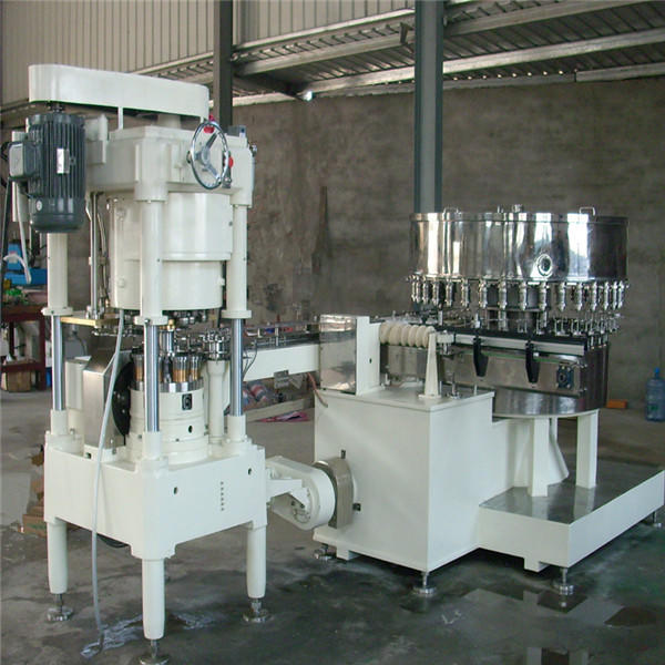 JNDWATER Can Filling Sealing Machine Tin Can Sealing Machine