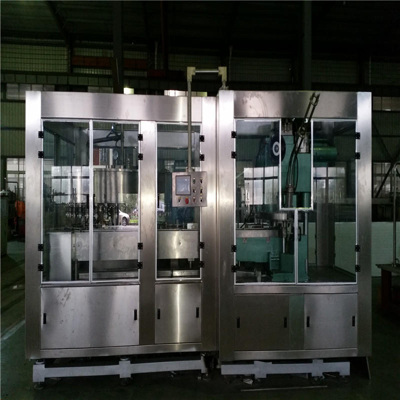 JNDWATER 1000-2000 CAN/H машина для розлива Can упаковочная машина