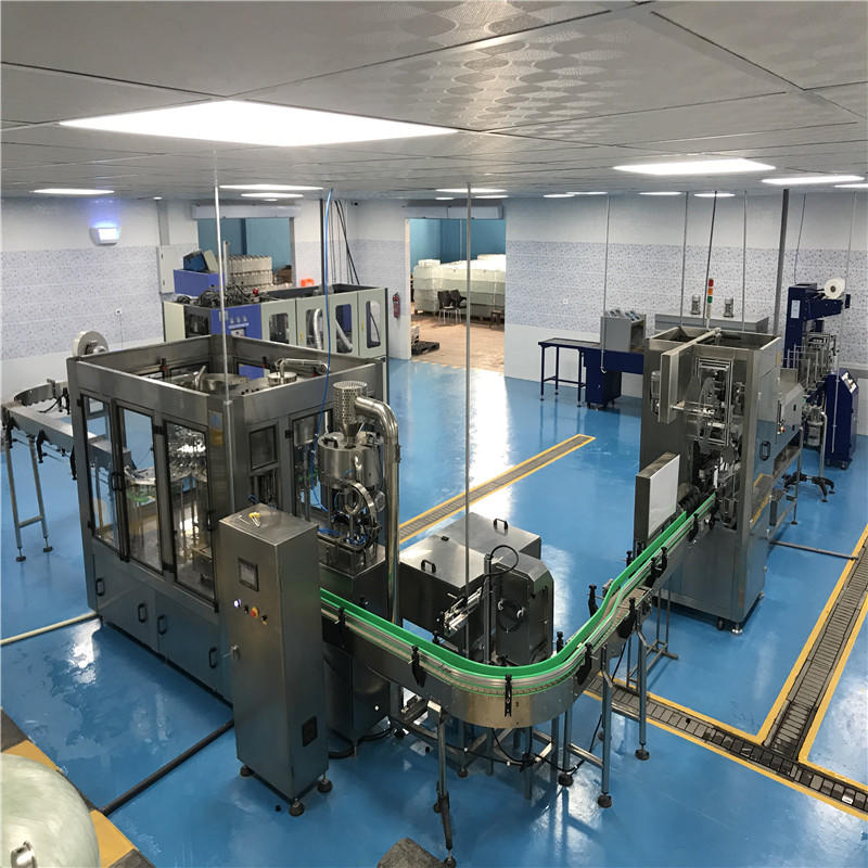 JNDWATER Non-carbonated Washing/ Filling /Capping Machine Bottling Machine