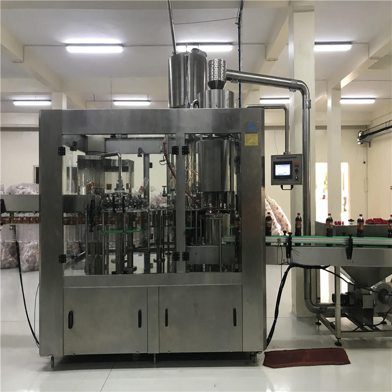 JNDWATER Low Vacuum Washing/Filling/Capping Machine