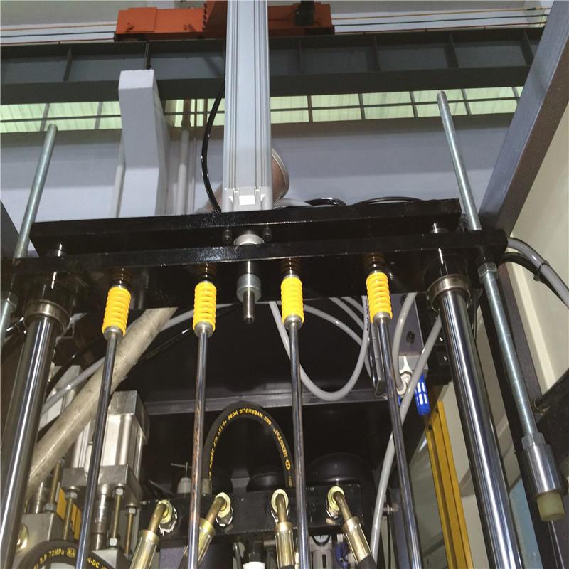 JNDWATER Полуавтоматическая машина для выдува и раздува для 4 полостей