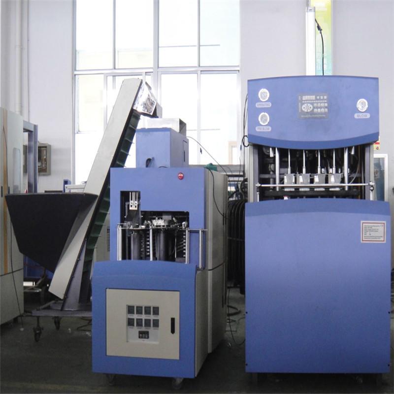 JNDWATER Machine de soufflage de corps creux semi-automatique de réchauffage pour 4 cavités