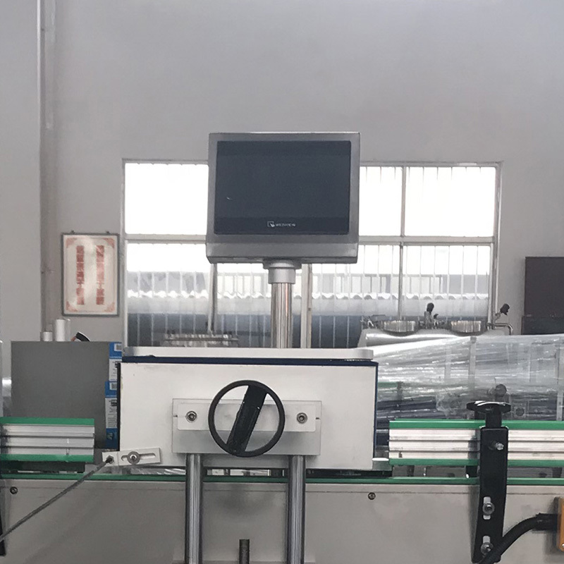 J&D WATER automatic sticker labeling machine reduce cost for metal container-4