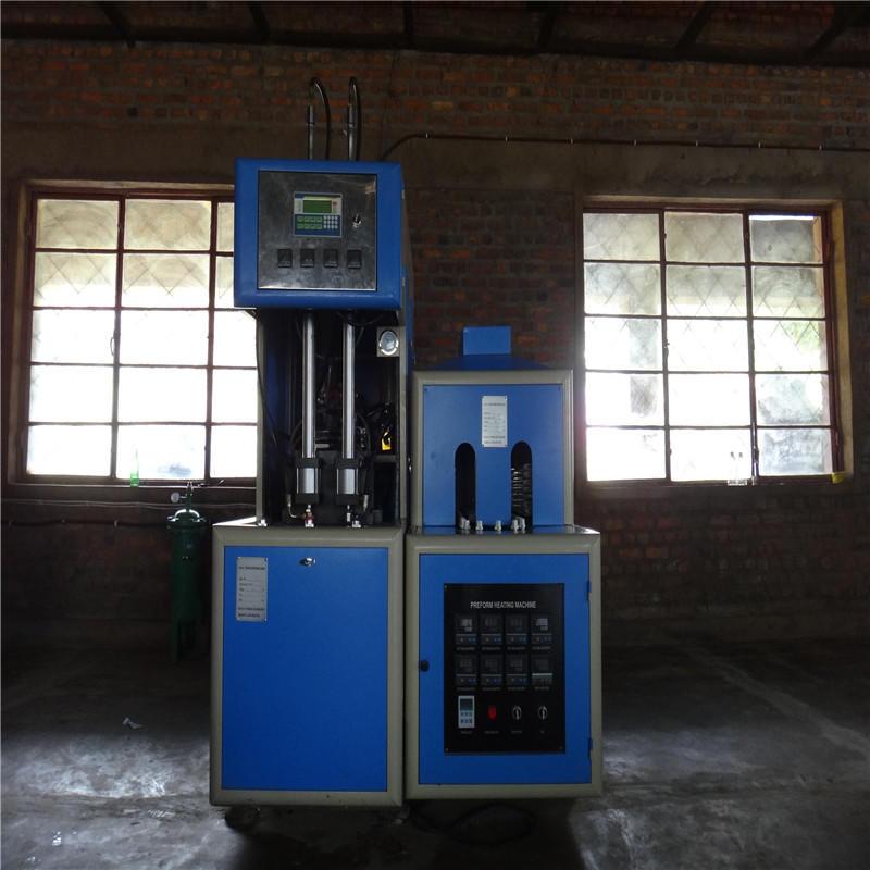 JNDWATER Полуавтоматическая машина для выдува пластиковых бутылок для 2 кавитов
