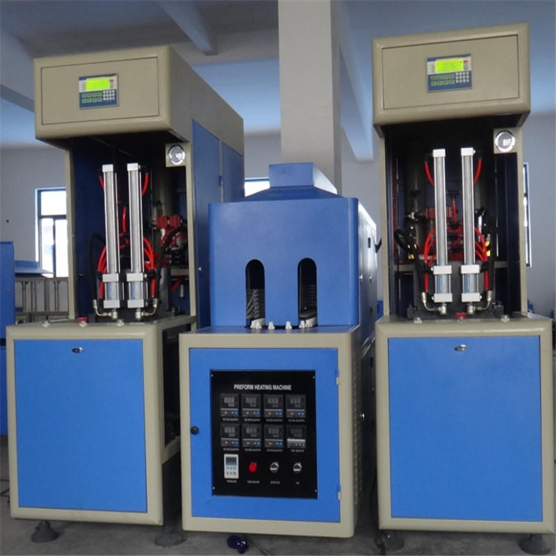 JNDWATER Semi-auto Reheat Stretch Blow Molding Machine