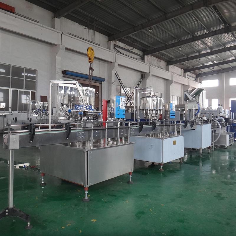 1000-2000bph Bottled Beverage Filling Machine