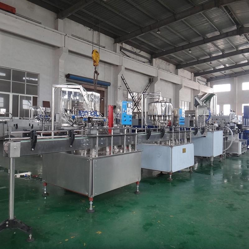 JD WATER-1000-2000bph Bottled Beverage Filling Machine | JD WATER-1