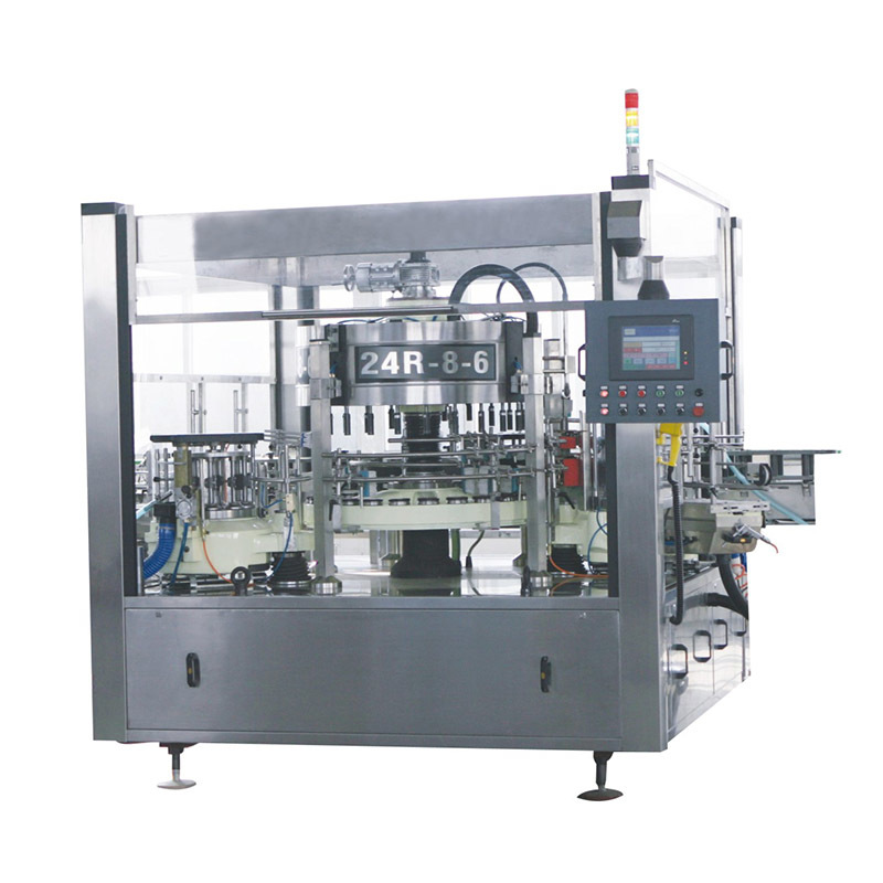 JD WATER-Cold Glue Bottle Label Machine | Glass Bottle Labeling Machine-1