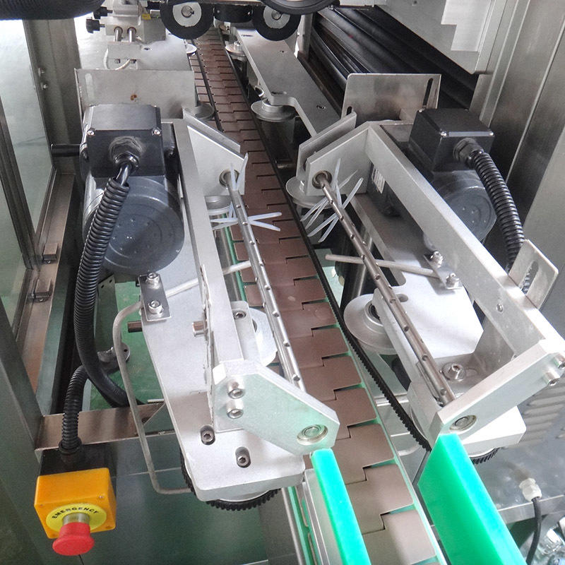 J&D WATER automatic labeling machine reduce cost for plastic bottle