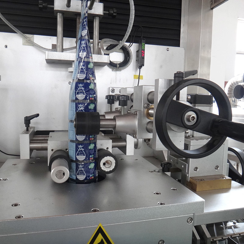 JD WATER-Shrink Sleeve Label Inserting Machine | Wine Bottle Labeling Machine-3