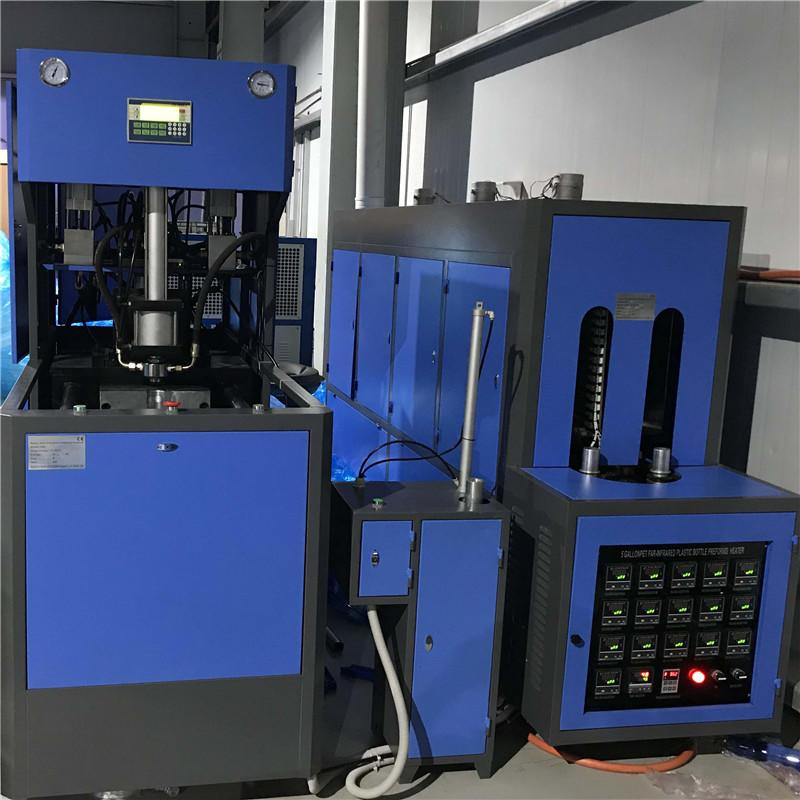4 & 5 & 6 галлонов JNDWATER полуавтоматическая машина для выдувания пластиковых бутылок
