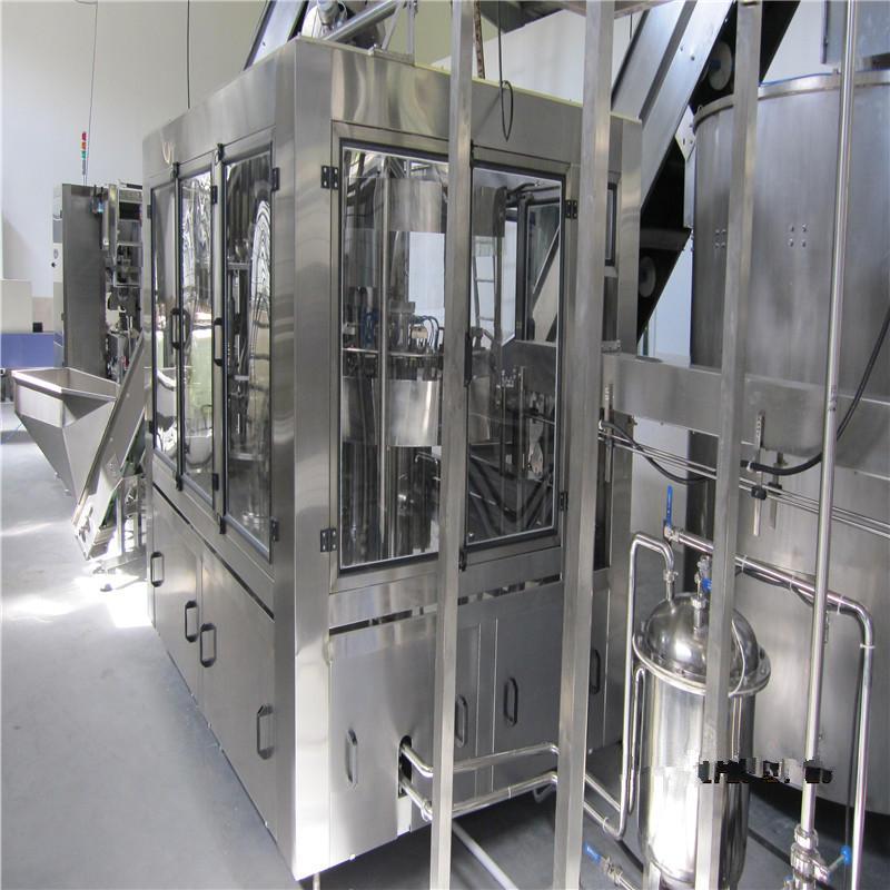 Автоматическая JNDWATER машина для мытья/наполнения/укупорки горячих напитков