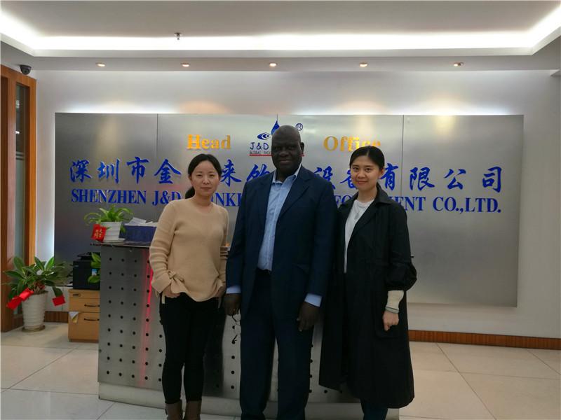 JD WATER-Customer Visiting Shenzhen Jd Drinking Water Equipment Co,ltd News About