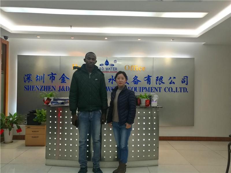 JD WATER-Customer Visiting Shenzhen Jd Drinking Water Equipment Co,ltd News About-1