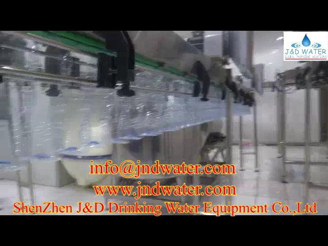 JNDWATER Plastic Bottle Air Conveyor
