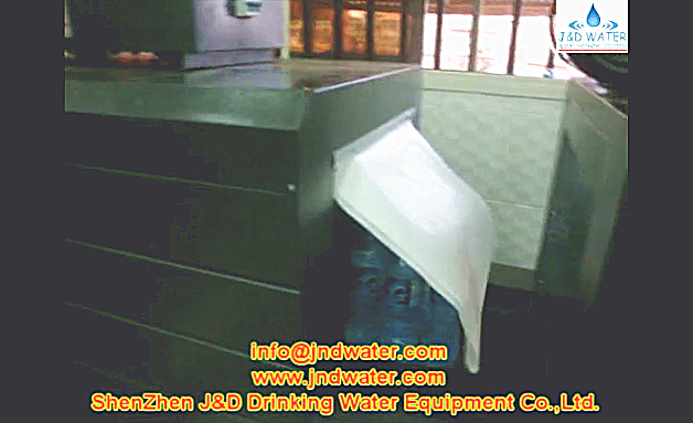 Successful installation and use of the JNDWATER sealing & shrinking packager