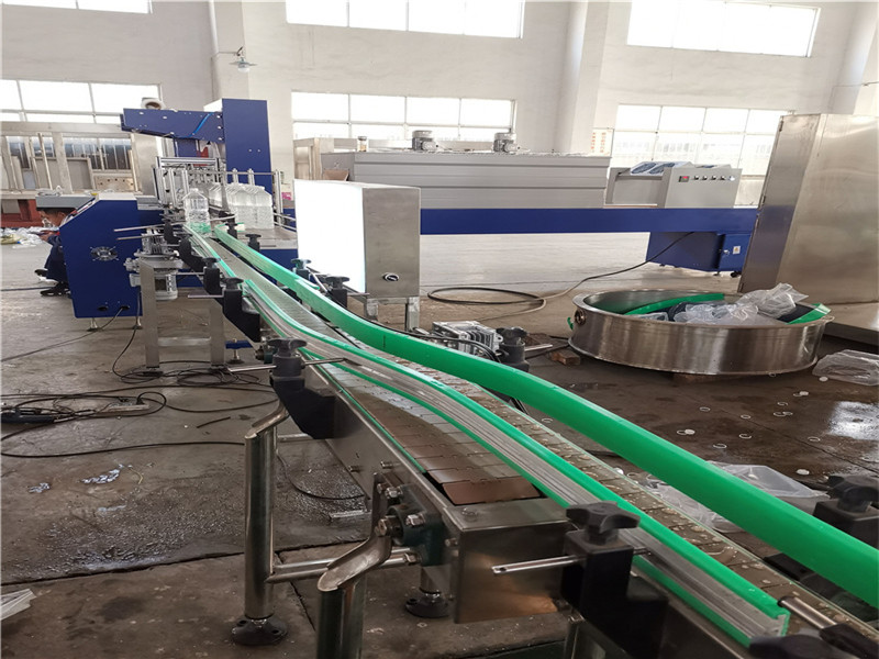 JD WATER-Oil Filling Machine-jndwater Chain Conveyor Factory Inspection-1
