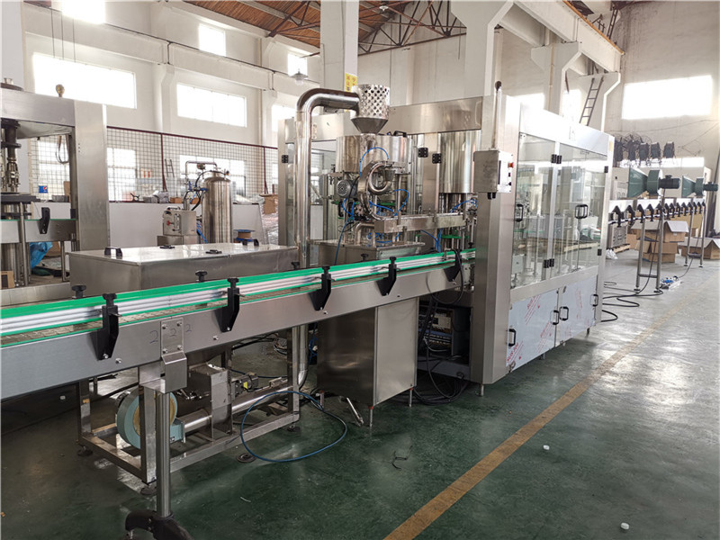 JD WATER-Oil Filling Machine-jndwater Chain Conveyor Factory Inspection-2