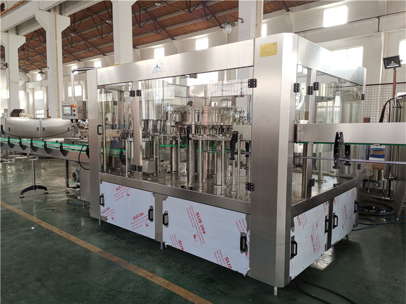 JD WATER-Oil Filling Machine-jndwater Chain Conveyor Factory Inspection-3