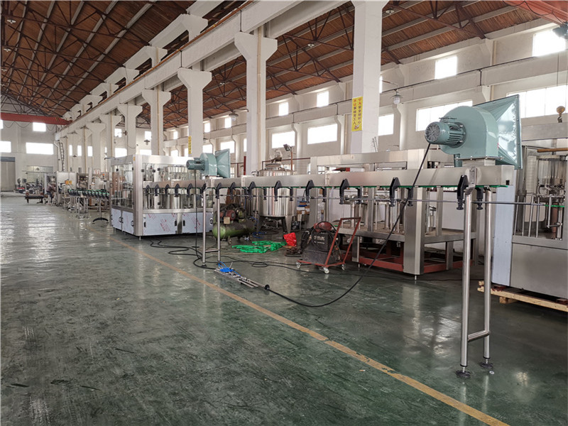 JD WATER-Oil Filling Machine-jndwater Chain Conveyor Factory Inspection-4