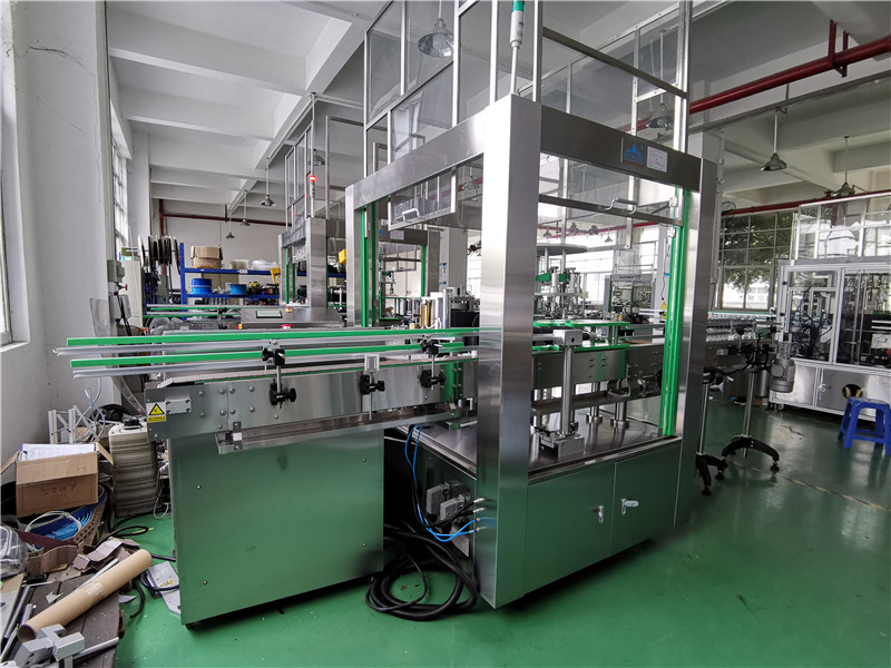 JD WATER-Bottle Packing Machine-6000 Bottles Per Hour Jndwater Labeling Machine