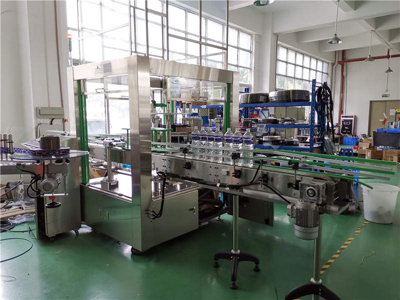JD WATER-Bottle Packing Machine-6000 Bottles Per Hour Jndwater Labeling Machine-1