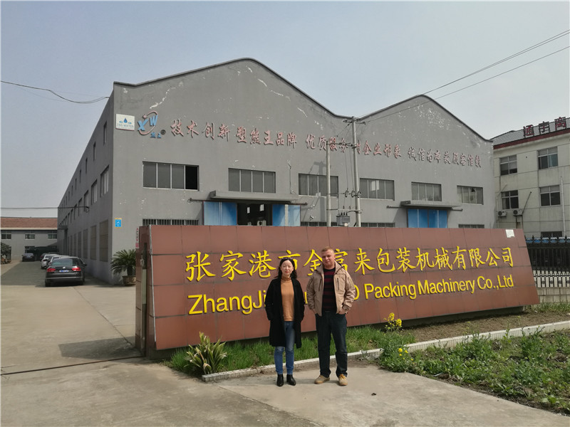 JD WATER-Bottling Machine-jndwater Sales Manager And Customer Meet Factory