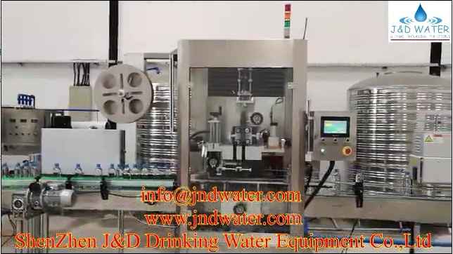 JNDWATER labeling machine in Tanzania